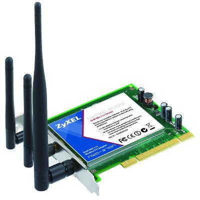 Adaptor wireless PCI Draft 802.11n