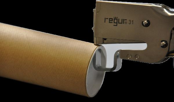 Capsator cu nicovala sau tija pentru capsare de margini, borduri, guler carton, tuburi si cilindru de carton