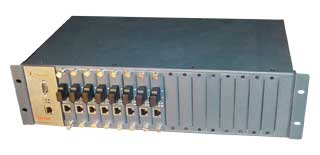 16 SLOTS 2U Chassis for Media Converter. Fibridge - FC-216
