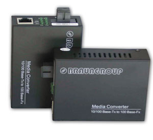 WDM Bi-directional Fiber Converter, single mode, SC, up to 20 km