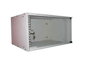 Rack 19&#34/6U, 600x400x380mm, usa transparenta fumurie. NextraC