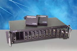 15 slot mediaconvertor chassis, 3U rack mountable. Planet - MC-1