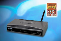 Cost Effective LAN/WLAN - WIRELESS Access Point- w/L2L bridge - 54Mbps.
