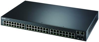 Switch Fast 48 porturi + 2 Giga, mng L2, rack19