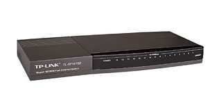 Switch desktop TL-SF1016D cu 16-port-uri 10/100Mbps