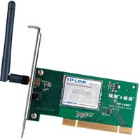 TP-Link TL-WN660G - Super G - eXtended Range 108M Wireless mini PCI Adapter