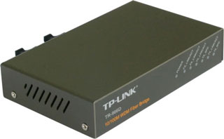 WDM Bridge Mediaconvertor ( 4 port switch), Up tp 20 Km.TP-Link