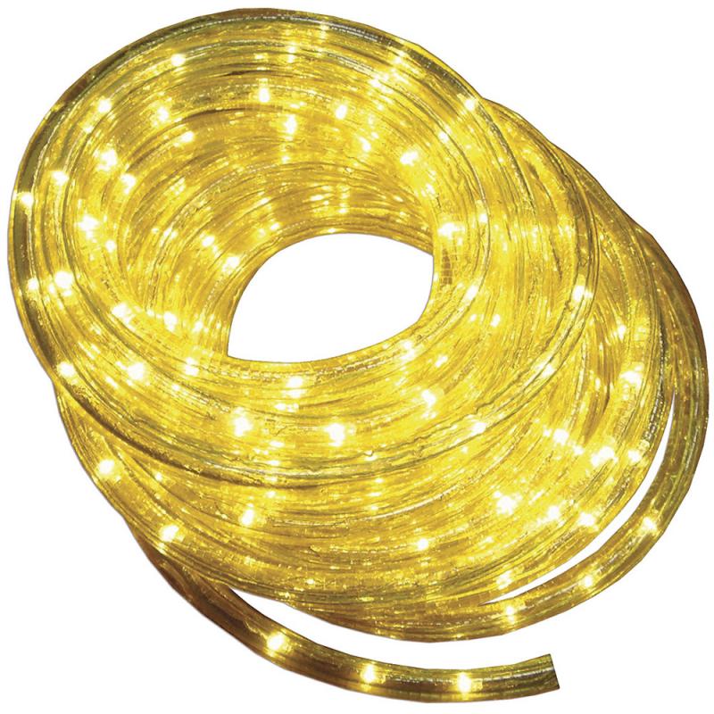 Tub luminos galben cu beculete galbene
